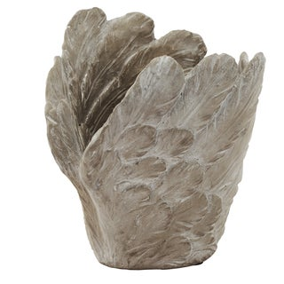 8-inch x 7-inch x 8-inch Skye Lifted Wing Decorative Dish