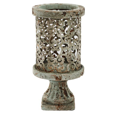 Dawn Medium 5-inch x 10-inch Indoor/Outdoor Candle Holder