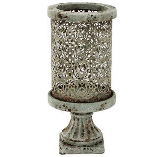 Morrocan Ceramic Rustic Candle Holder