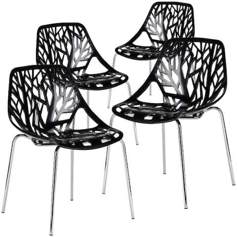 EdgeMod Birds Nest Dining Chair (Set of 4)
