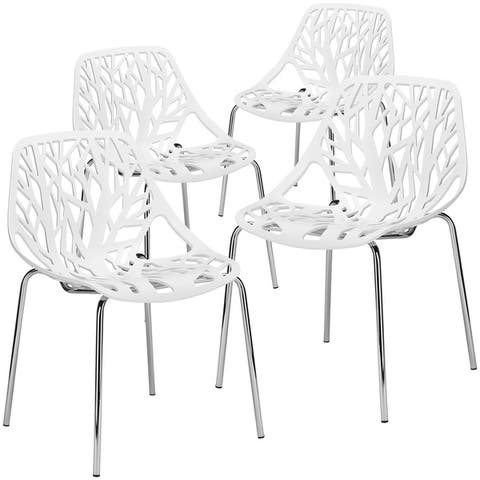 EdgeMod Birds Nest Dining Chair (Set of 4)