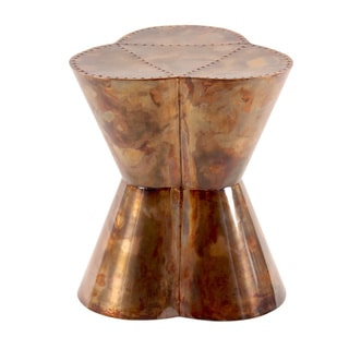 Flower Garden Oxygen Copper Stool