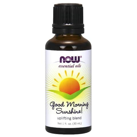 Now Foods 1-ounce Good Morning Sunshine Uplifting Essential Oil Blend