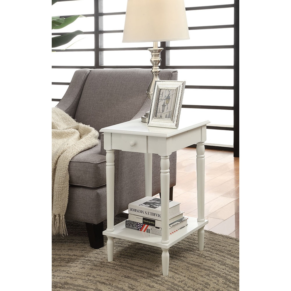 Shop Convenience Concepts French Country End Table On Sale Free - Convenience concepts french country coffee table