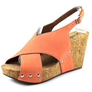 Lucky Brand Women's Minari Nubuck Sandals