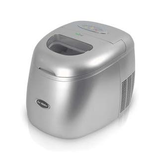 NutriChef PICEM15 Ultra Quiet Stainless Steel Countertop Ice Cube Maker|https://ak1.ostkcdn.com/images/products/11866257/P18765755.jpg?impolicy=medium
