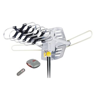 Uniko Pacific Trading BW 2608 Amplified HD Digital Outdoor HDTV Antenna with Motorized Rotation, Installation Kit Included