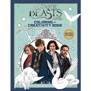 Fantastic Beasts and Where to Find Them Coloring and Creativity Book (Paperback)