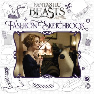 Fantastic Beasts and Where to Find Them Fashion Sketchbook (Paperback)