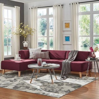 Soto Modern Upholstered Modular Sectional Seating iNSPIRE Q Modern (2 options available)