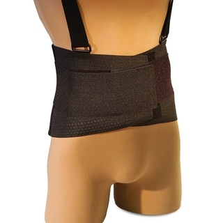 Ventillated Elastic Back Brace for Lumbar Support