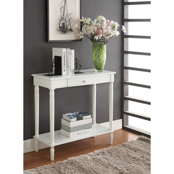 Kmart Foyer Table : Convenience concepts french country hall table free