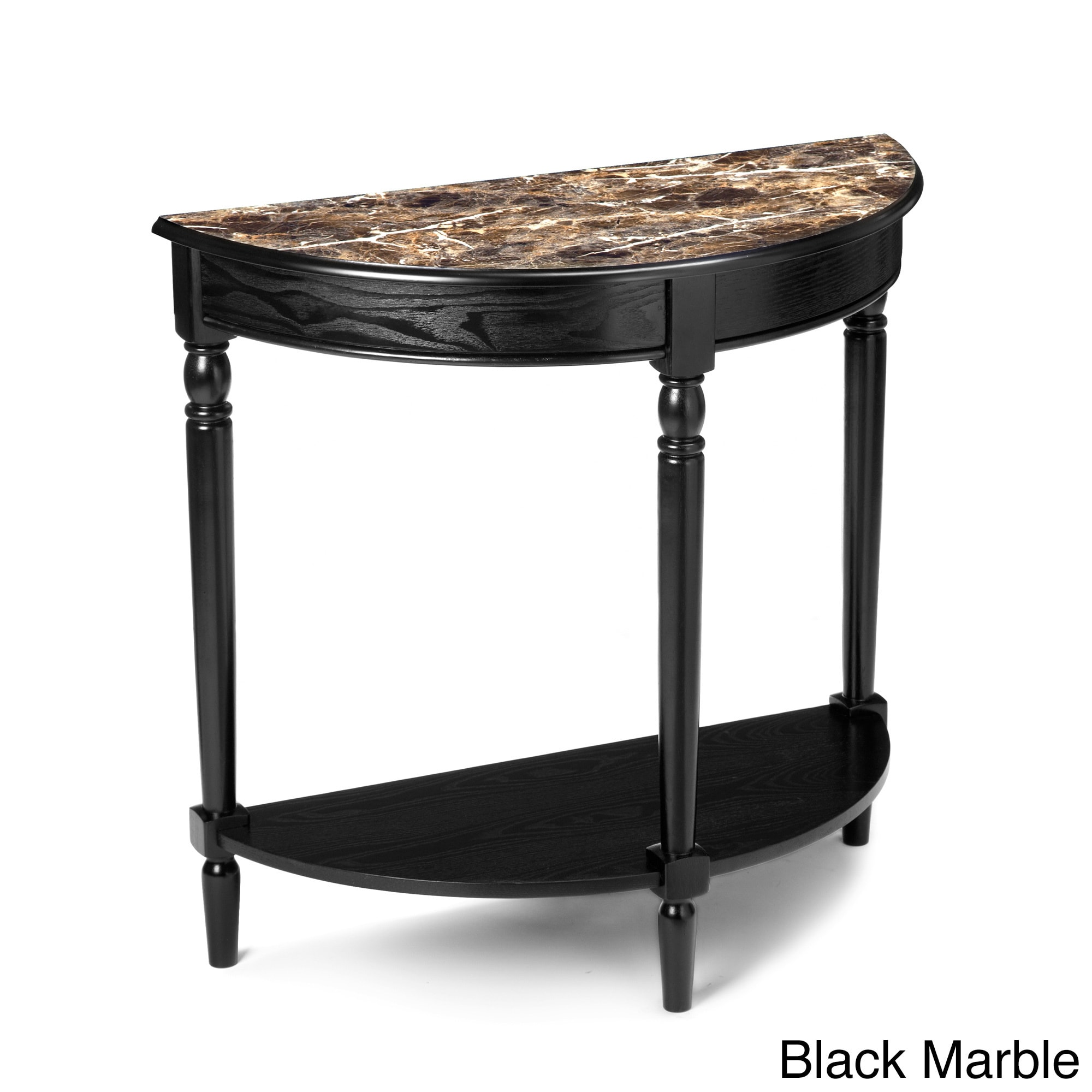 Convenience Concepts French Country Entryway Table (Black...