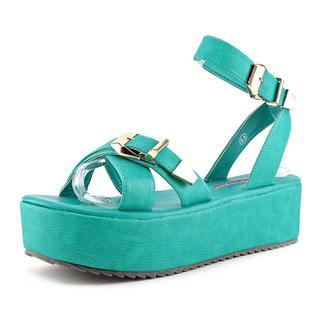 C Label Women's Mollini-4 Faux Leather Sandals