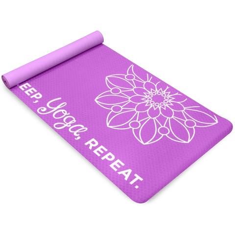 Life Energy 4mm Premium TPE EkoSmart Yoga Mat