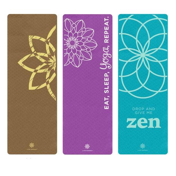 Life Energy EkoSmart 4mm Eco-friendly Yoga Mat