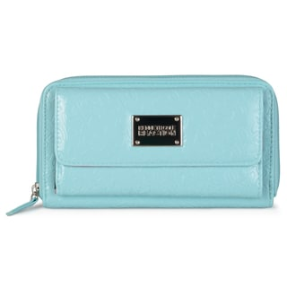 Kenneth Cole Reaction Women's Embossed Urban Organizer Clutch Wallet