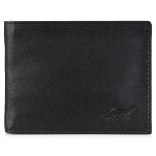 Greg Norman Men's Genuine Leather Passcase Bifold Wallet