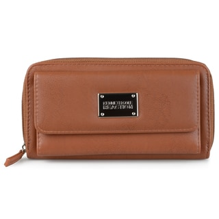 Kenneth Cole Reaction Women's Faux Leather Urban Organizer Clutch Wallet