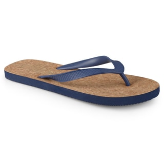 Vance Co. Men's Lightweight Casual Flip Flop Sandals