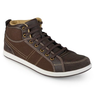 Vance Co. Men's 'Trey' Mid Rise Lace-up Sneakers