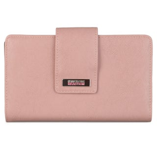 Kenneth Cole Reaction Women's Solid Utility Clutch Wallet