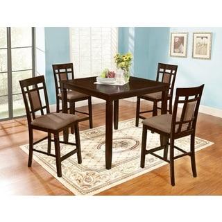 Inworld Dark Cherry 5-Piece Counter-height Dining Set