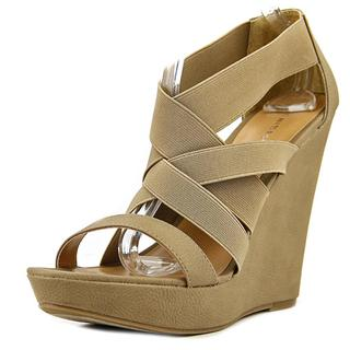 Chinese Laundry Women's Moonlight Tan Textile High Heeled Sandals