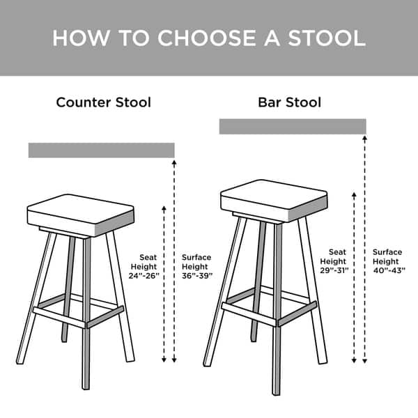 Madison Park Aida Charcoal Counter Stool 21 W X 24 D X 41 5 H On Sale Overstock 11867203