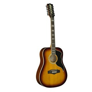 Eko Guitars 06216943 Ranger Series Honey Burst Wood Vintage Reissue 12-string Dreadnought Acoustic-electric Guitar