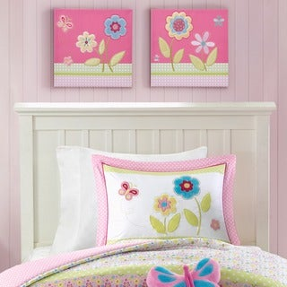 Mi Zone Kids Flower Power Pink Embroidery Set