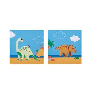 Mi Zone Kids Daring Dino Blue Embroidery Set
