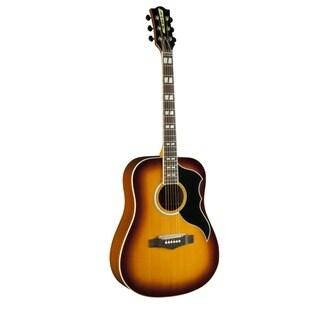 Eko Guitars 06216942 RANGER Series Vintage Reissue Honey Burs Dreadnought Acoustic-electric Guitar