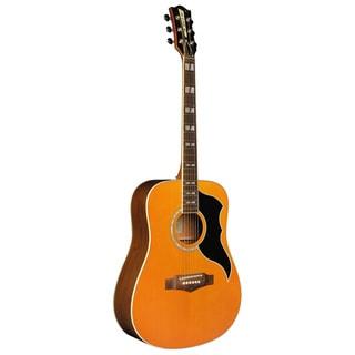 EKO Guitars Ranger Series Vintage-style Reissue Dreadnought Acoustic Electric Guitar