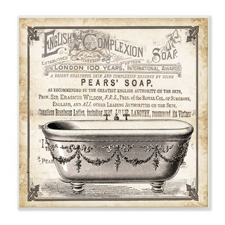Old English Tub Pears Soap' Wall Plaque Art