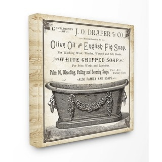 Old English Tub' Wall Plaque