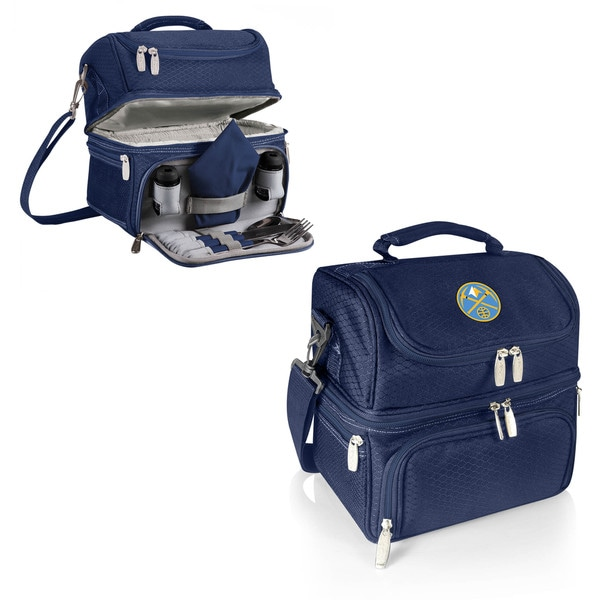 Picnic Time Pranzo Navy Denver Nuggets Lunch Tote