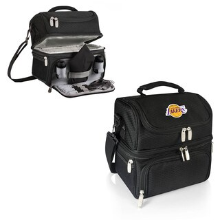 Picnic Time Los Angeles Lakers Black Pranzo Lunch Tote