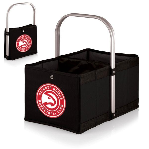 Picnic Time 'Atlanta Hawks' Black Urban Basket