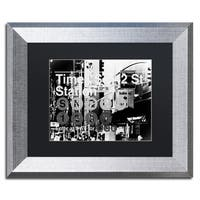 Philippe Hugonnard 'Subway City Art NYC II' Matted Framed Art