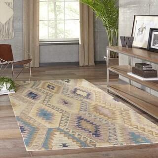 """Momeni Tangier Multicolor Hand-Tufted Wool Runner Rug - Multi - 2'3"""" x 8' Runner"""