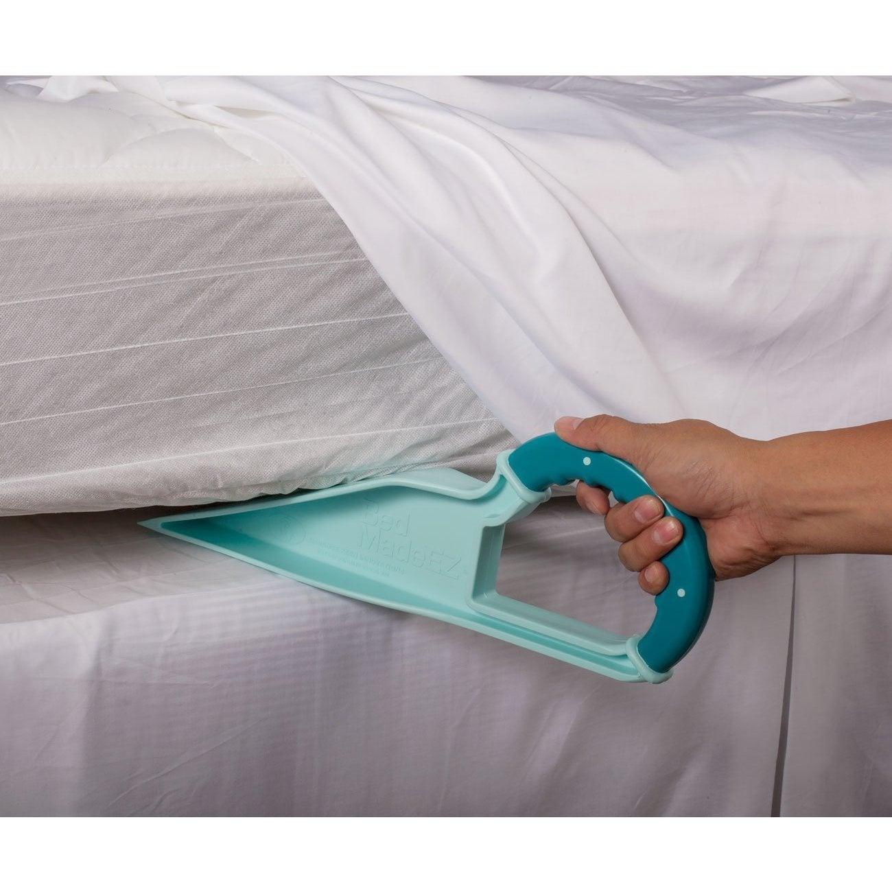 Kotter Home Easy Bed Making Wedge Bed Made EZ Blue Mattre...