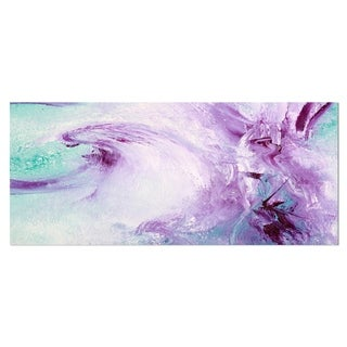 Designart 'Deep Colors' Abstract Metal Wall Art