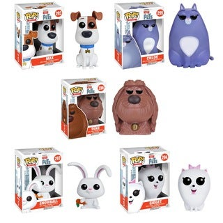 Funko The Secret Life of Pets: POP! Movie Collectors Set