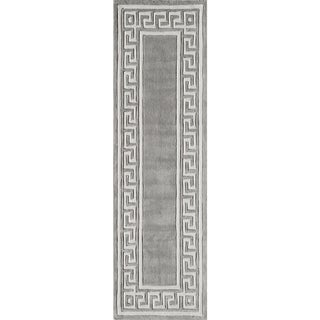 Hand-Tufted Olympus Polyester Rug (2'3 x 8')