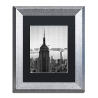 Philippe Hugonnard 'Pixels Print NYC' Matted Framed Art