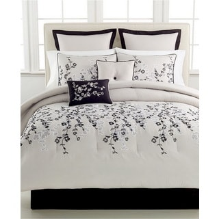 Whisper Embroidered Floral 8-piece Comforter Set