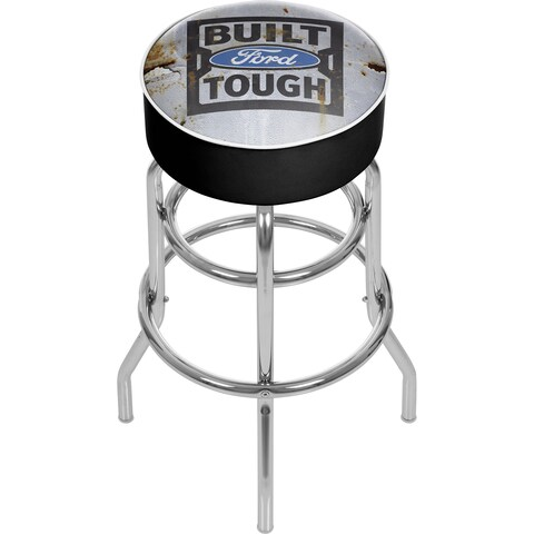 Ford Padded Swivel Bar Stool - Built Ford Tough