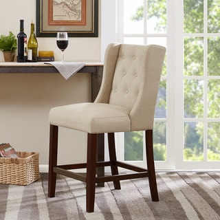 Madison Park Aida Cream Counter Stool