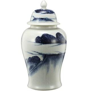 Windswept 9.5-inch x 18-inch Ginger Jar